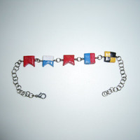 Babel (Mumford and Sons) bracelet (polymer clay)