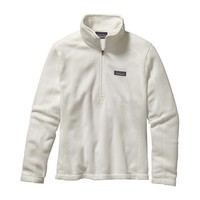 Patagonia Women's Micro D® Quarter Zip Fleece | Birch White