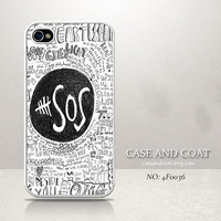 iPhone 5 Case, iPhone 4 Case, iPhone 5C Case, iPhone 5S Case 5SOS Phone Cases, iPhone Case - 4F0036