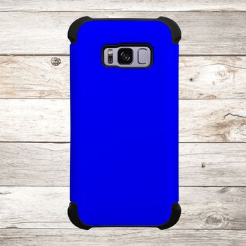Solid Color Blue for Apple iPhone, Samsung Galaxy, and Google Pixel