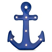 Threshold™ Anchor Marquee Light - Navy