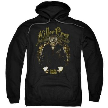 ac NOOW2 Suicide Squad - Killer Croc Skin Adult Pull Over Hoodie