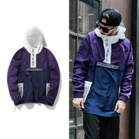 Couple Hats Windbreaker Jacket [272619307037]