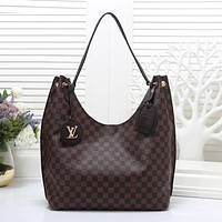 Louis Vuitton Women Fashion Leather Handbag Shoulder Bag Satchel