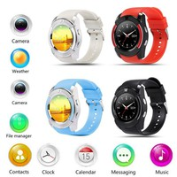 2017 New Mate Pedometer Wrist Bluetooth Smart Watch For Android HTC Samsung iPhone iOS