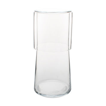 Bedside Carafe with Tumbler in Clear