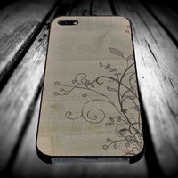 Flowers Wooden for iPhone 4/4s/5/5s/5c/6/6 Plus Case, Samsung Galaxy S3/S4/S5/Note 3/4 Case, iPod 4/5 Case, HtC One M7 M8 and Nexus Case ***