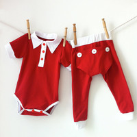 Two piece Onesuit Set - Baby Boy Outfit Baby Girl