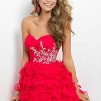 Blush 9673 at Prom Dress Shop
