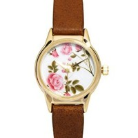 River Island Floral Helen Watch at asos.com