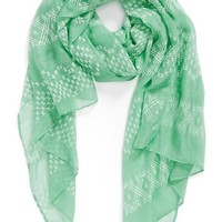 Lulu Puffy Paint Woven Scarf (Juniors)