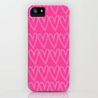 Hearts iPhone & iPod Case by Amber Rose