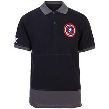 Captain America - Caps Polo Shirt