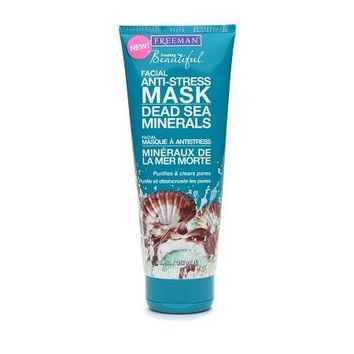 Freeman Feeling Beautiful Facial Anti-Stress Mask Dead Sea Minerals | Walgreens