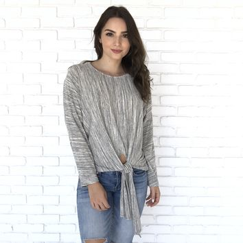 Take A Stroll Fleece Sweater Top