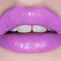 Lime Crime Highly Pigmented and Long-Lasting Opaque Lipstick with Bold Color - Airborne Unicorn