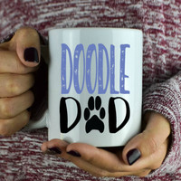 Doodle Dad Coffee Mug - Golden Doodle Lover - Gift For Christmas - Cute Coffee Mug - Dog Dad