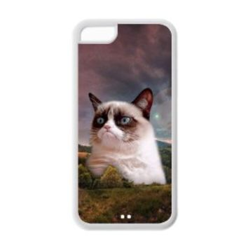 Grumpy Cat Apple iPhone 5c TPU Case with Grumpy Cat HD image