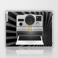 Retro Polaroid Camera Laptop & iPad Skin by mikailah.clark