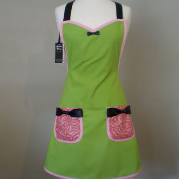 Zombie  Walking Dead inspired Apron