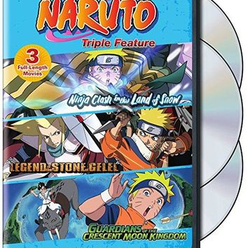 Various - Naruto Movies Triple Feature