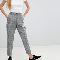 Monki Check PANTS Co Ord at asos.com