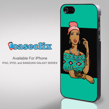 Pocahontas Hipster for Smartphone Case