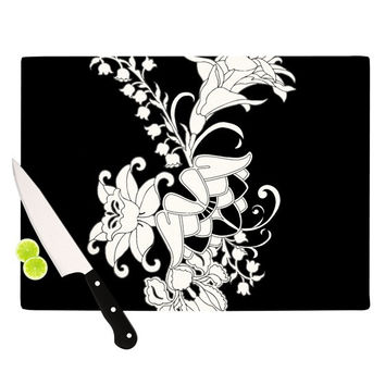 "Vikki Salmela ""My Garden"" Cutting Board"