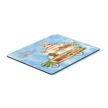 Merry Christmas Labradoodle Mouse Pad, Hot Pad or Trivet CK2411MP