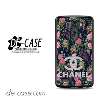 Floral Chanel 1 For LG G3 Case Phone Case Gift Present YO