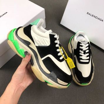 Balenciaga Triple-S Xia Gu jogging shoes