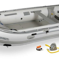 Sea Eagle 12ft 6in Rigid Inflatable Keel Boat Capacity 6 Adults