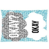 Generic The Fault in Our Stars Custom Rectangle Pillow Cases 20x30 One Side