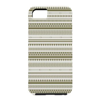 Allyson Johnson Green Aztec Cell Phone Case