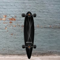 Shiver Smoke Pintail Longboard 38 inch with Shark Wheels
