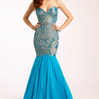Strapless Mermaid Dress 20587