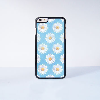 Cute Daisy Plastic Case Cover for Apple iPhone 6 Plus 4 4s 5 5s 5c 6