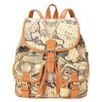 Columbus's voyage backpack series maps