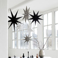 Black Paper Star Decoration