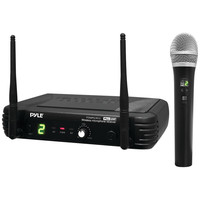 Pyle Pro Premier Series Professional Uhf Wireless Handheld Microphone System With Selectable Frequencies