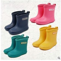 Free shipping Children's shoes Boy's boots Rain Boots Girls shoes Baby Girls boots Children Rain shoes Girls Boots Rubber Shoes