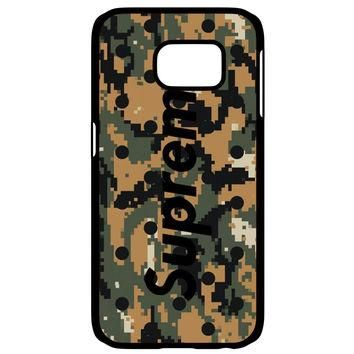 SUPREME CAMO Samsung Galaxy S6 Edge Case