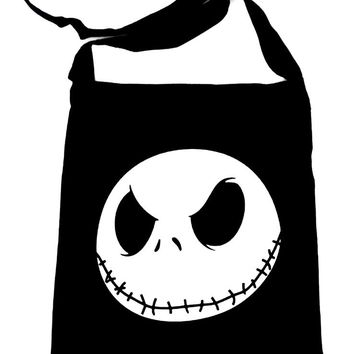 Jack Skellington Crossbody Sling Bag Goth Nightmare before Christmas