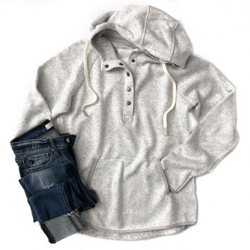 Speckled Ivory Dillon Hoodie