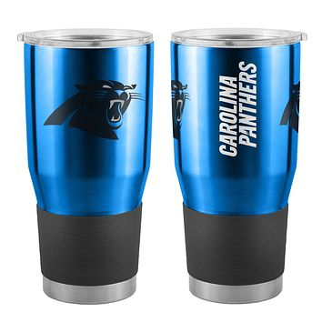 Carolina Panthers Travel Tumbler 30oz Ultra Blue