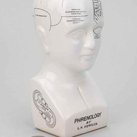 Phrenology Head Bank- White One