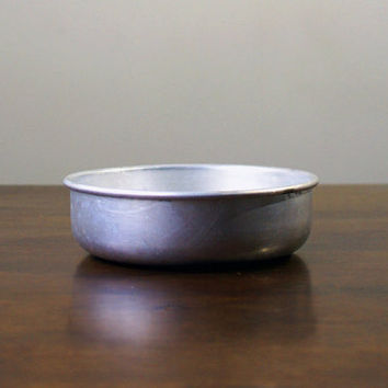 Vintage canteen / diner / army aluminum bowl from the USSR, circa 1960s
