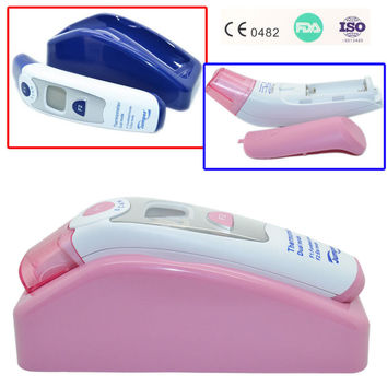 Non-contact Ear & Forehead LCD Digital Infrared Thermometer by Baby in Motion
