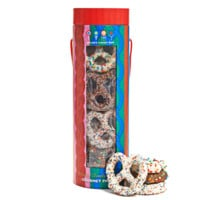 Dylan's Candy Bar Holiday Pretzel Tower | Dylan's Candy Bar