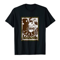 ZOMBIE Horror Lovers Tee Shirt Red & Green